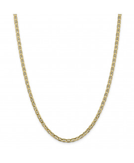 14k 3.75mm Concave Anchor Chain