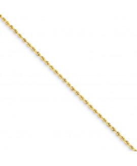 14k 1.50mm Handmade Regular Rope Chain