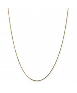 14ky 1.3mm Curb Pendant Chain