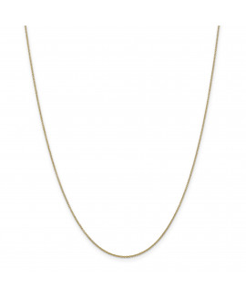 14k .9mm Cable Chain