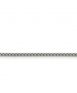 Stainless Steel 2.20mm 24in Pendant Chain
