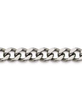 Stainless Steel 13.75mm 8.5in Curb Chain