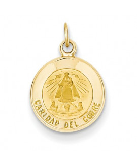 14k Our Lady of Cuba Medal Charm