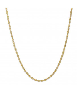 10k 3.5mm Marquise 24 inch Chain