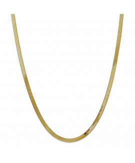 14k 4.0mm Silky Herringbone Chain