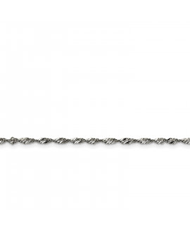 Stainless Steel 2.5mm 18in Singapore Chain