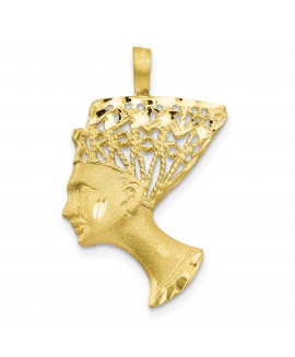 10k EGYPTIAN HEAD CHARM