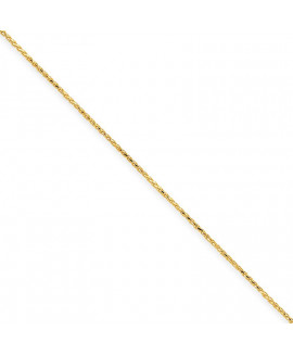14k 1.2mm D/C Spiga Chain