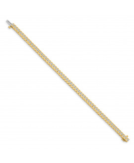 14k VS Diamond tennis bracelet