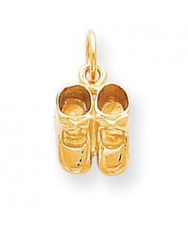 10k BABY SHOES CHARM