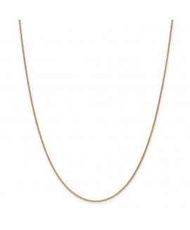 14k 1mm Cable Chain