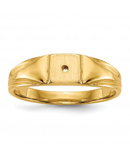 14k Child's Diamond Ring Mounting