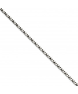 Stainless Steel 5.50mm 24in Franco Chain