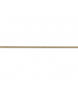 14k 1.5mm Cable Chain Anklet