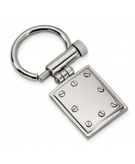 Stainless Steel Polished Key Chain