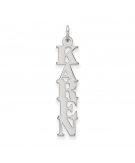 10k White Gold Cut-out Letters Nameplate - Flyer Pg. 4