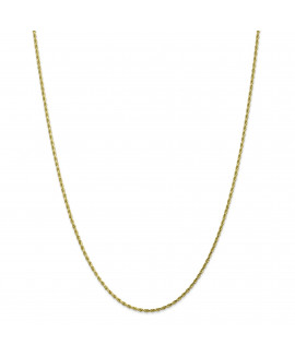 10k 1.75mm Handmade Diamond-cut Rope Chain