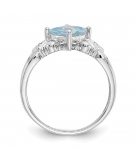 10k White Gold Ladies Ring Mounting
