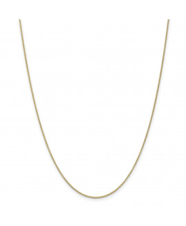 14k 1.2mm Cable Chain