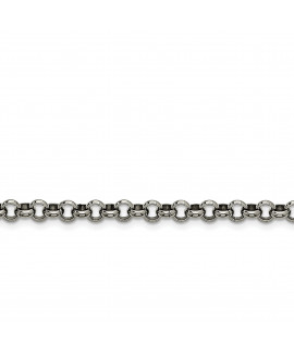 Stainless Steel 6mm Rolo Chain