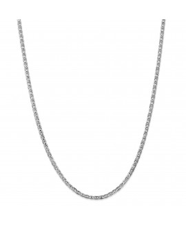 14k WG 3mm Concave Anchor Chain