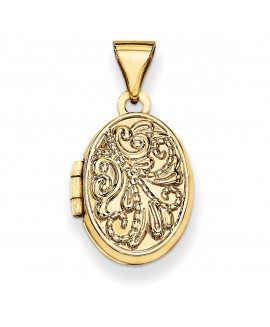 14k Oval Locket