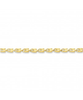 10k 4mm Marquise Chain