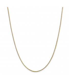14k .9mm Solid Polished Franco Chain