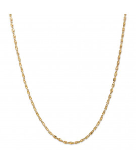 14k 2.5mm Marquise Chain