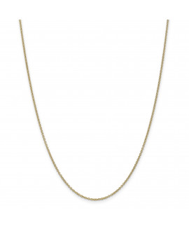 14k 1.6mm Cable Chain