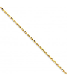 14k 1.84mm D/C Quadruple Rope Chain
