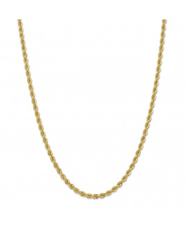14k 4.0mm Solid Rope Chain