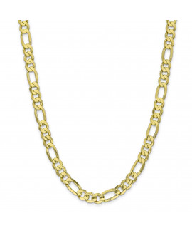 10k 8.75mm Light Concave Figaro Chain