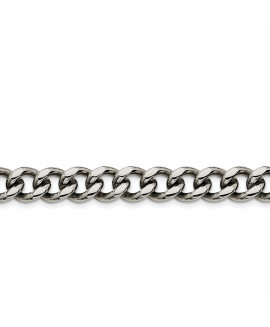 Stainless Steel 11.50mm 8.5in Curb Chain